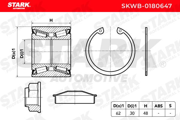 Radlagersatz STARK SKWB-0180647 Erfahrung