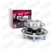 Rodamiento de rueda STARK 7979460 eje delantero, ambos lados, Rodamiento integrado en buje de rueda