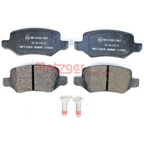 Brake Pad Set, disc brake 1170028 A-Class (W169) A 170 1.7 (169.032, 169.332) MY 2004