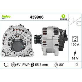 Generator Rippenanzahl: 6 mit OEM-Nummer AV6N 10300 GC