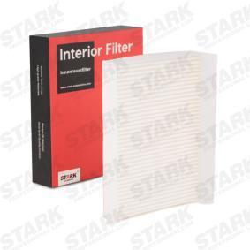 Filter, Innenraumluft Länge: 157mm, Breite: 222mm, Höhe: 31mm mit OEM-Nummer 71775824