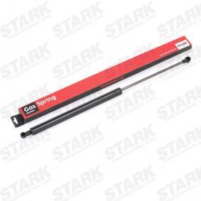 Heckklappendämpfer / Gasfeder Gehäuselänge: 302,5mm, Länge: 569,5mm, Hub: 230mm mit OEM-Nummer 84 43 046 92R