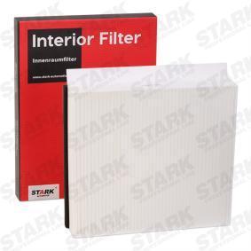 Filter, Innenraumluft Länge: 230mm, Breite: 205mm, Höhe: 40mm mit OEM-Nummer 668 09 9 03