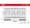 Filtro de aire acondicionado FIAT Scudo Familiar (220_) 2003 Año 7980319 STARK Filtro antipolen