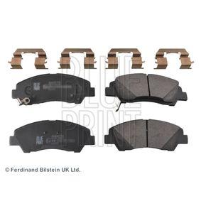 Bremsbelagsatz, Scheibenbremse Breite: 50,5mm, Dicke/Stärke 1: 15,8mm mit OEM-Nummer 58101-B4A00