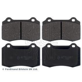 Bremsbelagsatz, Scheibenbremse Breite: 69,3mm, Dicke/Stärke 1: 14,8mm mit OEM-Nummer 30683858