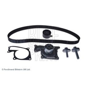 Water pump and timing belt kit Width: 27,0mm with OEM Number 2101000Q0MS1
