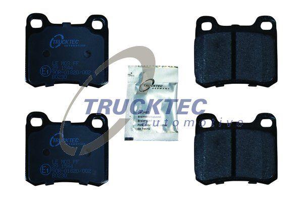 TRUCKTEC AUTOMOTIVE  02.35.100 Bremsbelagsatz, Scheibenbremse Breite: 61,7mm, Höhe: 54,3mm