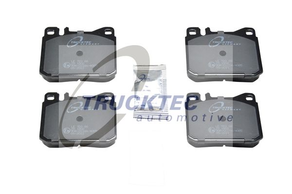 TRUCKTEC AUTOMOTIVE  02.35.112 Bremsbelagsatz, Scheibenbremse