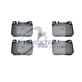 Bremsbelagsatz, Scheibenbremse mit OEM-Nummer A001 420 7520