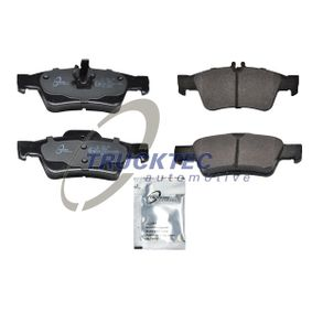 2008 Mercedes W211 E 220 CDI 2.2 (211.006) Brake Pad Set, disc brake 02.35.115
