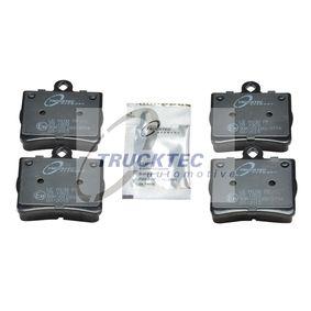 Bremsbelagsatz, Scheibenbremse mit OEM-Nummer A 002 420 51 20