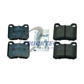 Bremsbelagsatz, Scheibenbremse mit OEM-Nummer A 001 420 01 20