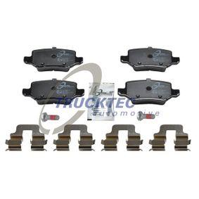 Brake Pad Set, disc brake 02.35.147 A-Class (W169) A 170 1.7 (169.032, 169.332) MY 2008