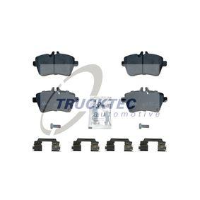 2009 Mercedes W169 A 200 CDI 2.0 (169.008, 169.308) Brake Pad Set, disc brake 02.35.148