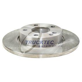 Bremsscheibe Bremsscheibendicke: 12mm, Lochanzahl: 5, Ø: 276mm mit OEM-Nummer A169 421 0012