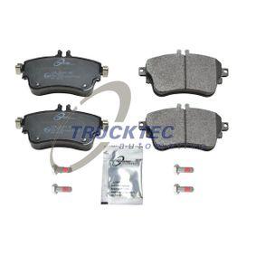 Bremsbelagsatz, Scheibenbremse mit OEM-Nummer A 008 420 04 20