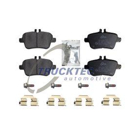 Bremsbelagsatz, Scheibenbremse mit OEM-Nummer A 007 420 94 20