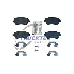 Bremsbelagsatz, Scheibenbremse Höhe: 52,4mm mit OEM-Nummer 41060-AX625-