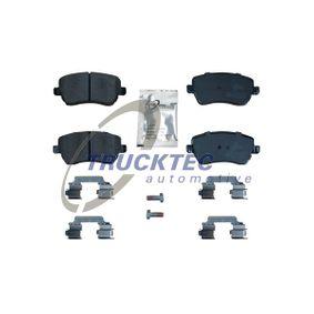 Brake Pad Set, disc brake 02.35.449 Clio 4 (BH_) 1.5 dCi 90 MY 2019