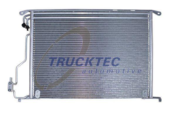 TRUCKTEC AUTOMOTIVE  02.40.225 Kondensator, Klimaanlage Netzmaße: 570 x 482 x 18 mm
