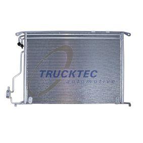 Kondensator, Klimaanlage Netzmaße: 570 x 482 x 18 mm mit OEM-Nummer A220 500 00 54