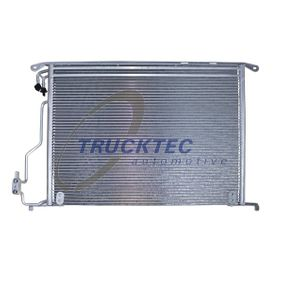 Kondensator, Klimaanlage Netzmaße: 570 x 482 x 18 mm mit OEM-Nummer 220 500 00 54
