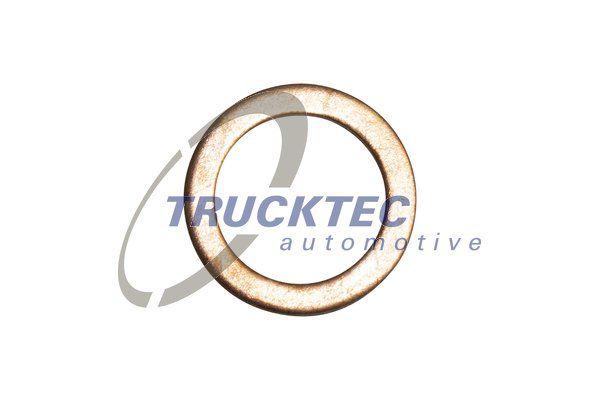 TRUCKTEC AUTOMOTIVE  02.67.048 Уплътнителен пръстен, пробка за източване на маслото Ø: 20мм, дебелина: 1,5мм, вътрешен диаметър: 14мм