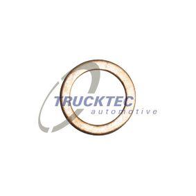 Уплътнителен пръстен, пробка за източване на маслото Ø: 20мм, дебелина: 1,5мм, вътрешен диаметър: 14мм с ОЕМ-номер 007603014106