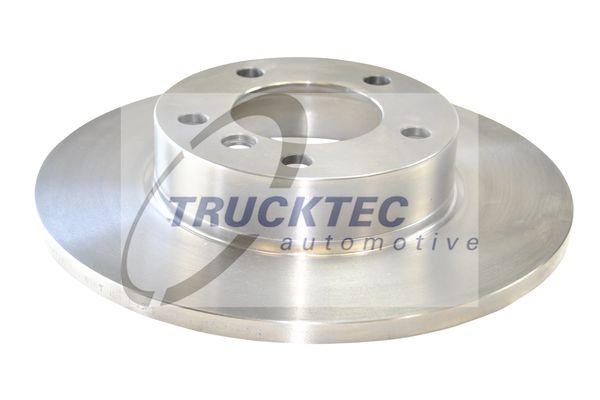 TRUCKTEC AUTOMOTIVE  08.34.024 Bremsscheibe Bremsscheibendicke: 12mm, Lochanzahl: 5, Ø: 286mm