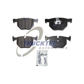 Pastillas de Freno BMW X5 (E70) 3.0 d de Año 02.2007 235 CV: Juego de pastillas de freno (08.34.105) para de TRUCKTEC AUTOMOTIVE