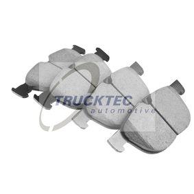 Tapón de dilatación BMW X5 (E70) 3.0 d de Año 02.2007 235 CV: Juego de pastillas de freno (08.34.160) para de TRUCKTEC AUTOMOTIVE