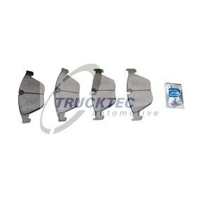 Bremsbelagsatz, Scheibenbremse mit OEM-Nummer 34116775314