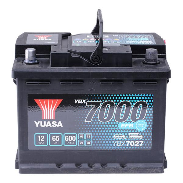 Yuasa Ybx7000 Starter Battery Battery Capacity 60ah Cold Test