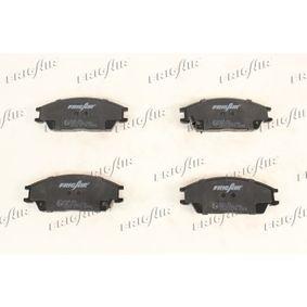 Bremsbelagsatz, Scheibenbremse Breite: 127mm, Höhe: 48mm, Dicke/Stärke: 15mm mit OEM-Nummer 45022SA6600