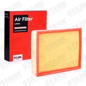 Luftfilter Länge: 286mm, Breite: 213mm, Höhe: 56mm mit OEM-Nummer 13363973