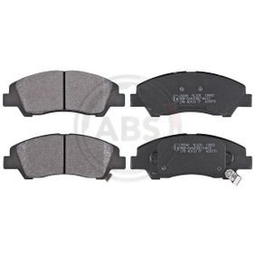 Bremsbelagsatz, Scheibenbremse Breite 1: 132,6mm, Höhe 1: 50,5mm, Dicke/Stärke 1: 16,0mm mit OEM-Nummer 58101B4A00