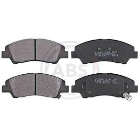 Bremsbelagsatz, Scheibenbremse Breite 1: 132,6mm, Höhe 1: 50,5mm, Dicke/Stärke 1: 16,0mm mit OEM-Nummer 58101-B4A00