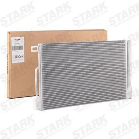 Kondensator, Klimaanlage Netzmaße: 600 x 355 x 12 mm mit OEM-Nummer 39 035 152