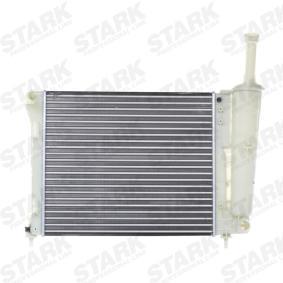 Kühler, Motorkühlung Netzmaße: 478 x 415 x 18 mm mit OEM-Nummer 519 39 068