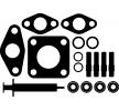 ELRING Juego de montaje turbocompresor LANCIA con juntas, con instrucciones de montaje, con tornillos