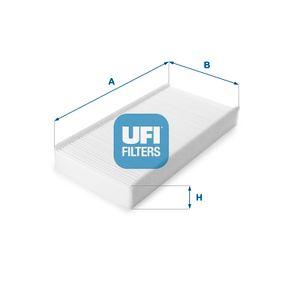 Filter, Innenraumluft Länge: 314,0mm, Breite: 153,0mm, Höhe: 40,0mm mit OEM-Nummer 6479 04