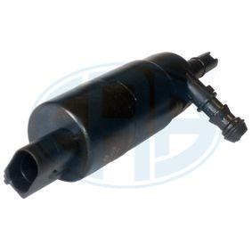 Waschwasserpumpe, Scheibenreinigung Spannung: 12V, Anschlussanzahl: 2 mit OEM-Nummer 1J0 955 681