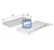UFI 5323900 Filtro aire habitáculo