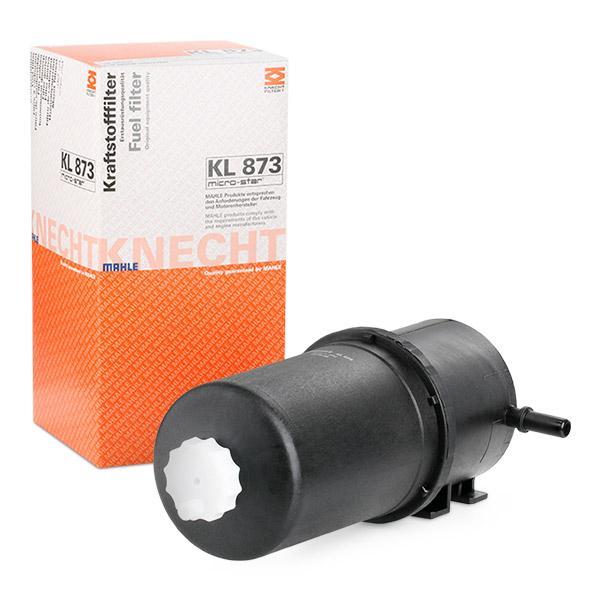 Inline fuel filter MAHLE ORIGINAL KL873 expert knowledge