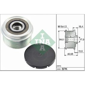 INA  535 0285 10 Generatorfreilauf