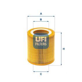 Ölfilter Ø: 74,5mm, Innendurchmesser 2: 40mm, Innendurchmesser 2: 40mm, Höhe: 79mm mit OEM-Nummer 11427640862
