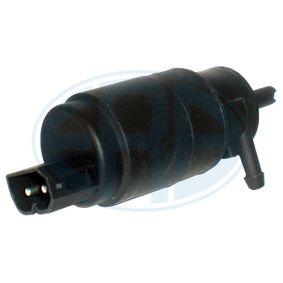 Waschwasserpumpe, Scheibenreinigung Spannung: 12V, Anschlussanzahl: 2 mit OEM-Nummer 6166 1380 066