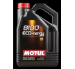 Cumpărați online ulei de motor 8100, ECO-NERGY, 0W-30, 5I de la MOTUL ieftine - EAN: 3374650238012