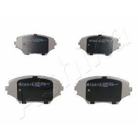Brake Pad Set, disc brake 50-02-280 RAV 4 II (CLA2_, XA2_, ZCA2_, ACA2_) 2.0 D 4WD (CLA20_, CLA21_) MY 2005
